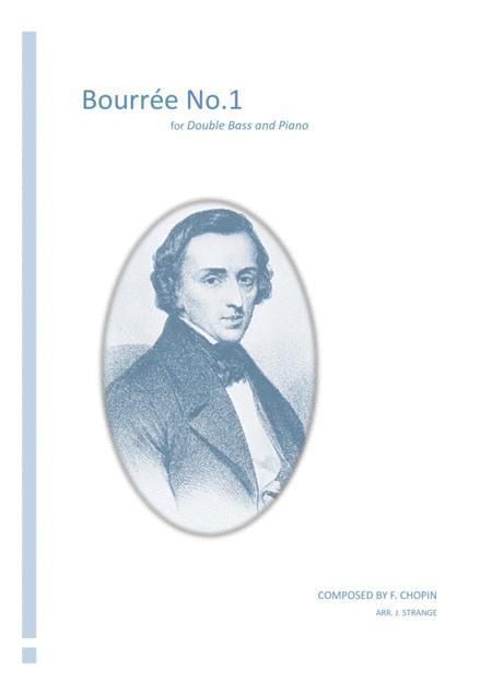 Bourrée No 1 for Double Bass