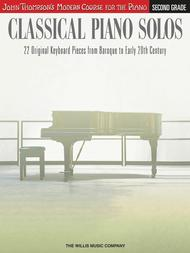 Classical Piano Solos - Second Grade