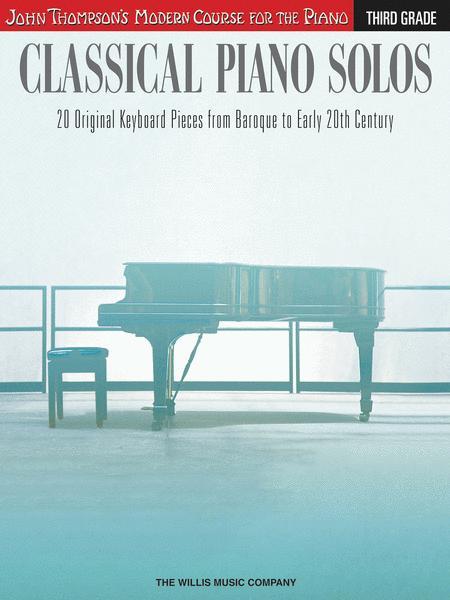 Classical Piano Solos - Third Grade