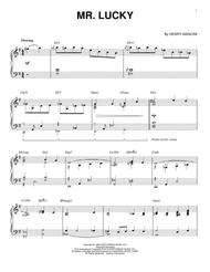 Mr. Lucky [Jazz version] (arr. Brent Edstrom)