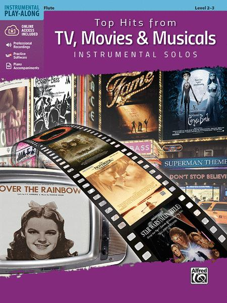Top Hits from TV, Movies & Musicals Instrumental Solos