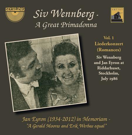 Siv Wennberg - A Great Primadonna, Volume 1