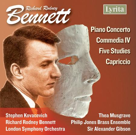 Piano Concerto; Five Studies; Commedia IV; Cappricio