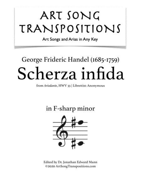 Scherza infida! (F-sharp minor)