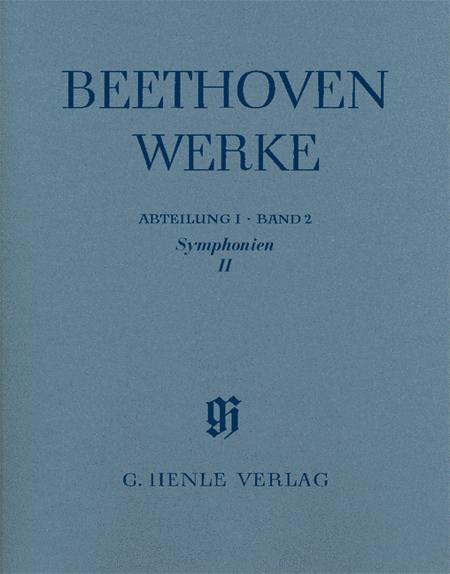 Symphonies II Abteilung I, Band 2