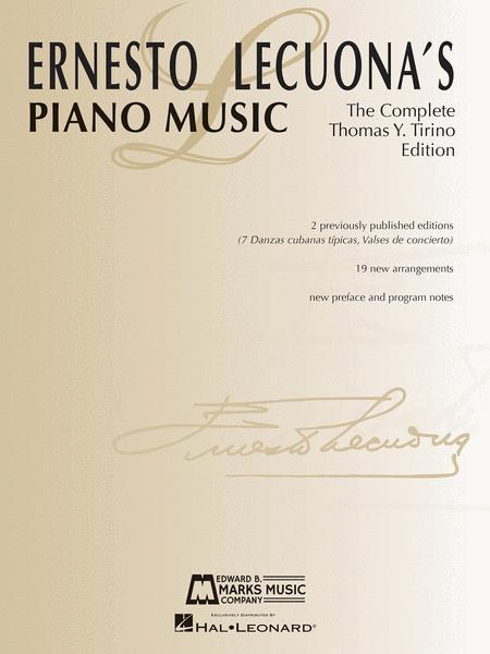 Ernesto Lecuona's Piano Music