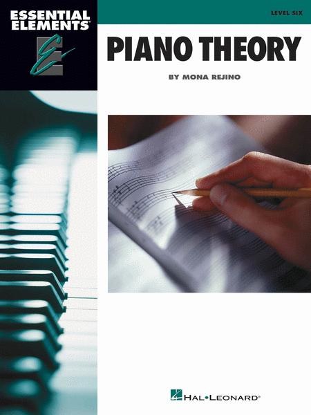 Essential Elements Piano Theory - Level 6