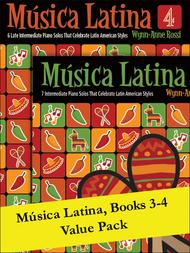 MAosica Latina Books 3-4 (Value Pack)
