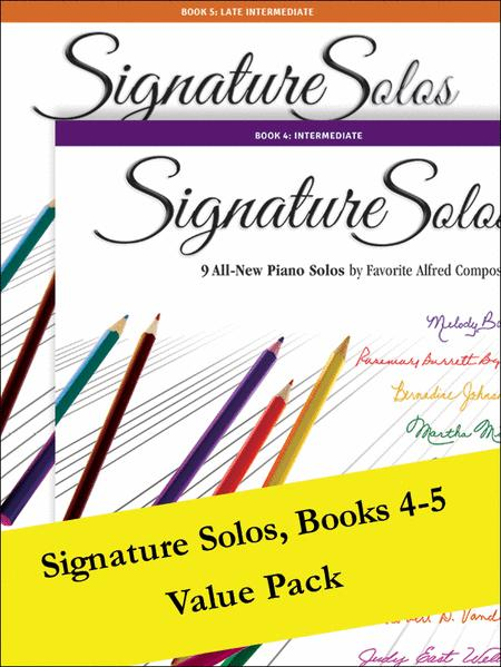 Signature Solos 4-5 (Value Pack)