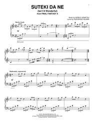 1-2] final fantasy x suteki da ne (kakash piano arrangement.