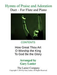 Gary Lanier: HYMNS of PRAISE and ADORATION (Duets for Flute & Piano)