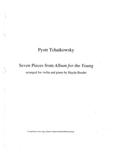 Seven pieces from Album for the Young