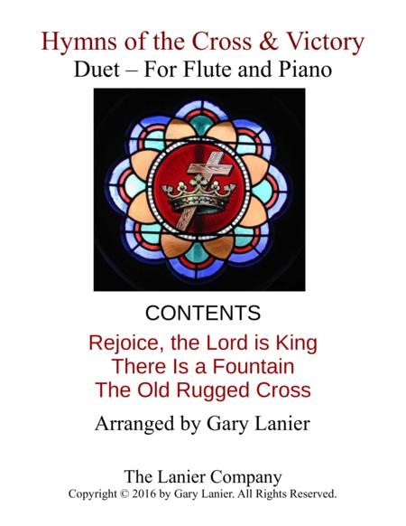 Gary Lanier: Hymns of the Cross & Victory (Duets for Flute & Piano)