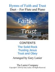 Gary Lanier: Hymns of Faith and Trust (Duets for Flute & Piano)
