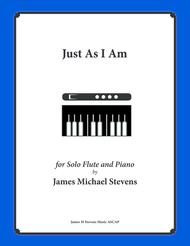 Just As I Am (Piano & Flute)