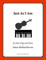 Just As I Am (Piano & Violin)