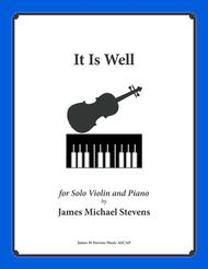 It Is Well (Solo Violin & Piano)