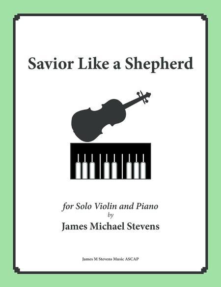 Savior Like a Shepherd Lead Us (Piano & Violin)