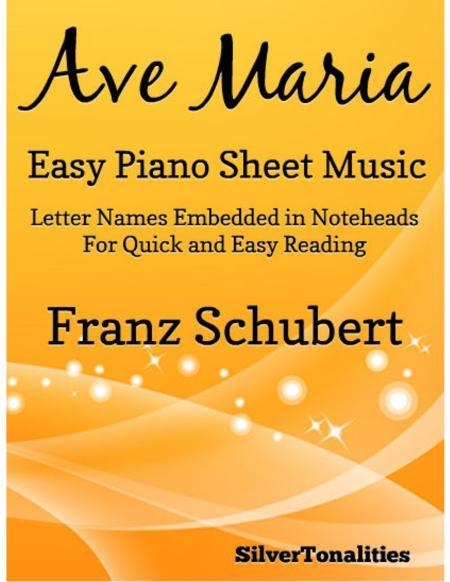 Ave Maria Easy Piano Sheet Music