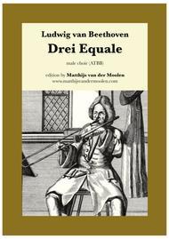 Drei Equale / Three Equali (male choir)
