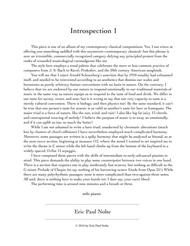 Introspection 1