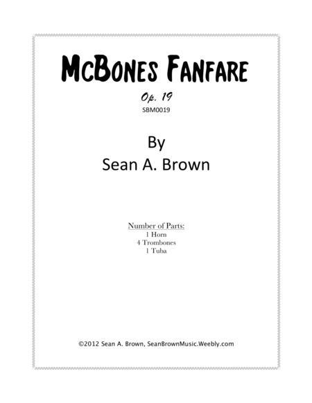 McBones Fanfare, Op. 19