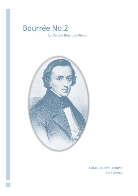 Bourrée No 2 for Double Bass
