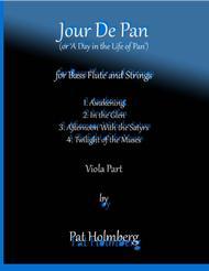 Jour de Pan (for bass flute and strings)- viola part