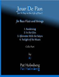 Jour de Pan (for bass flute and strings) - cello part