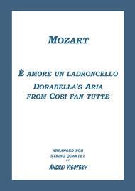 Dorabella's Aria from Cosi fan tutte