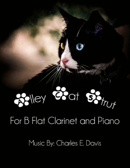 Alley Cat Strut - B Flat Clarinet and Piano