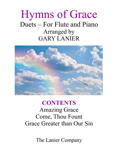 Gary Lanier: HYMNS of GRACE (Duets for Flute & Piano)