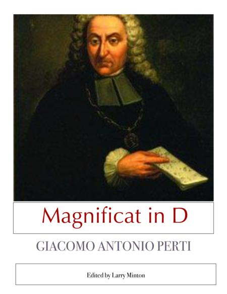 Magnificat in D - Vocal Score