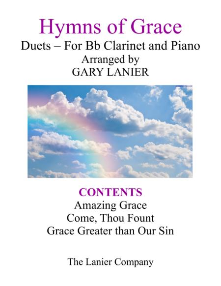 Gary Lanier: HYMNS of GRACE (Duets for Bb Clarinet & Piano)