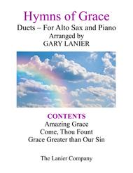 Gary Lanier: HYMNS of GRACE (Duets for Alto Sax & Piano)