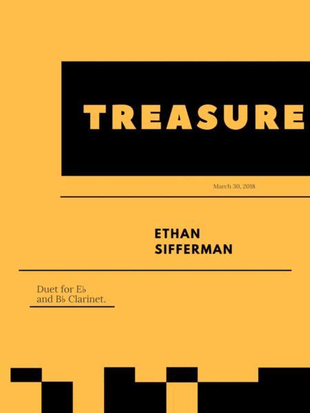 Treasure - Clarinet Duet