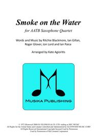 Smoke on the Water - for AATB Saxophone Quartet
