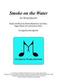 Smoke on the Water - for String Quartet