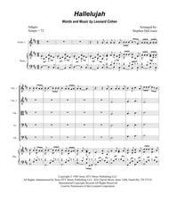 Hallelujah (for String Orchestra)