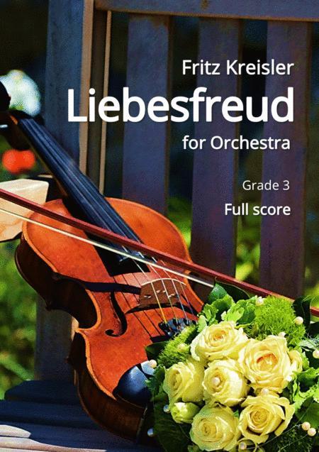 Kreisler: Liebesfreud (for Orchestra) Full Score