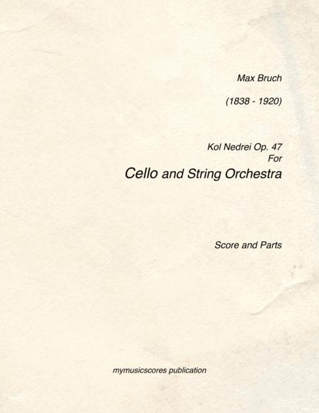Kol Nidrei for Cello and String Orchestra