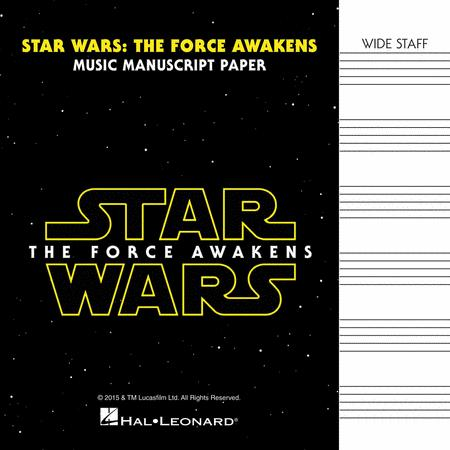 Star Wars: The Force Awakens - Manuscript Paper