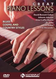 Great Piano Lessons: Blues, Gospel and Country Styles