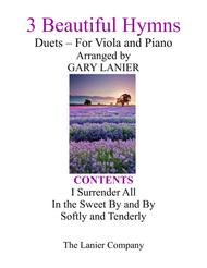 Gary Lanier: 3 BEAUTIFUL HYMNS (Duets for Viola & Piano)