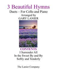 Gary Lanier: 3 BEAUTIFUL HYMNS (Duets for Cello & Piano)