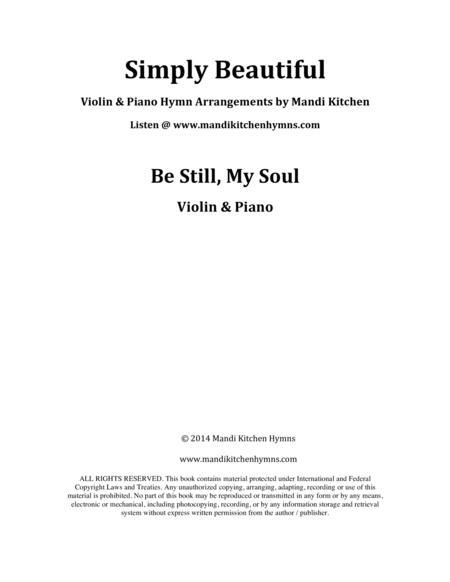 Be Still, My Soul (Violin & Piano)