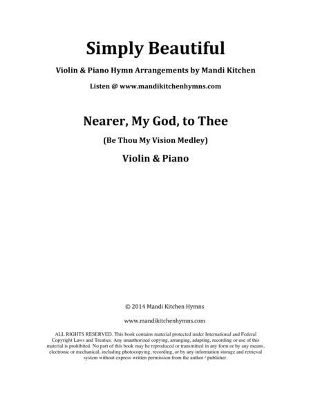 Nearer, My God, to Thee (Violin & Piano)
