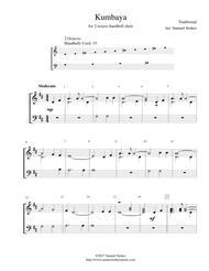 Kumbaya - for 2-octave handbell choir