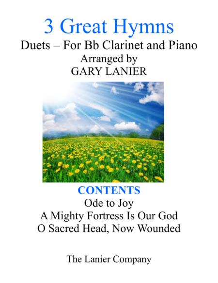 Gary Lanier: 3 GREAT HYMNS (Duets for Bb Clarinet & Piano)