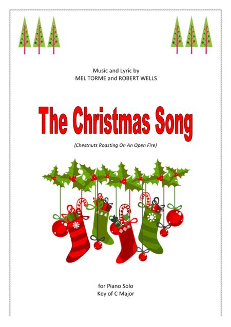 The Christmas Song, piano solo, C major